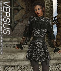 VERSUS - Sugar and Spikes dForce dress for G8F