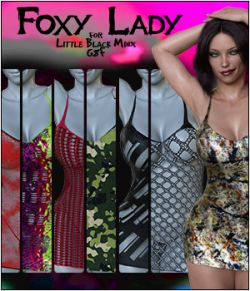 Foxy Lady for Little Black Minx G8F