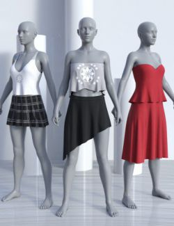 dForce JW Clothes Pack for Genesis 8 Female(s)