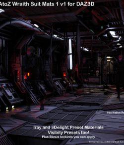 AtoZ Wraith Suit Visibility-n-Mats 1 v1 DAZ 3D