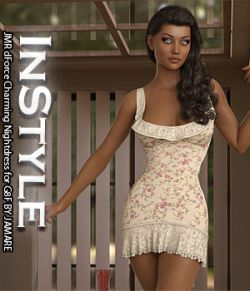 InStyle- JMR dForce Charming Nightdress for G8F