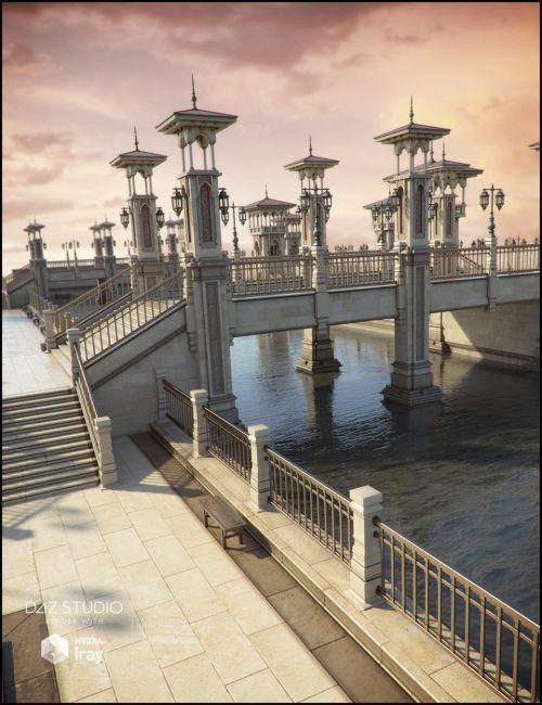 Bridge of Cheirocrates Iray Addon