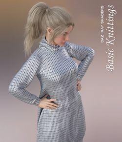 Daz Iray- Basic Knittings