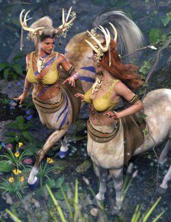 Centaur Grove Outfit for Genesis 8 Female Centaur