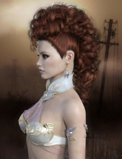 Roxana Hair Genesis 8 Female(s)