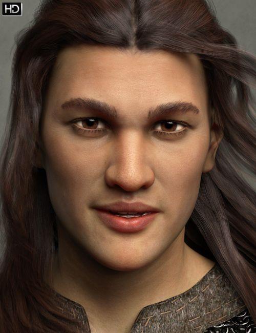 Markos HD for Genesis 8 Male