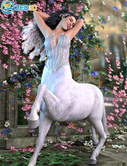 Z Mystical Beauty Poses for Genesis 8 Female Centaur