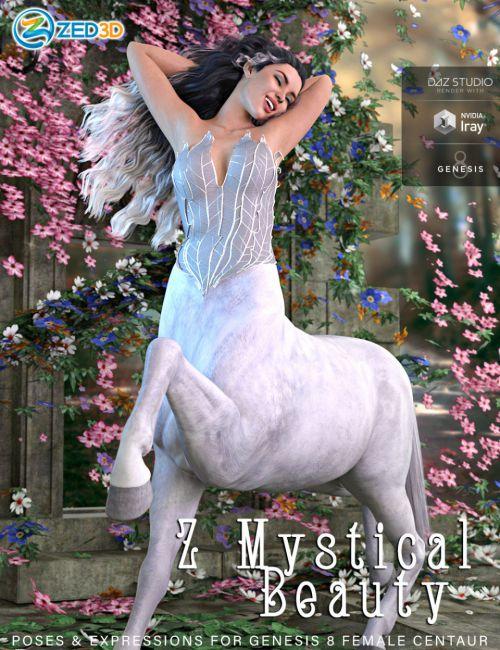 Z Mystical Beauty Poses for Genesis 8 Female Centaur