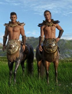 Centaurian Outfit Textures