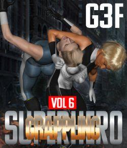 SuperHero Grappling for G3F Volume 6