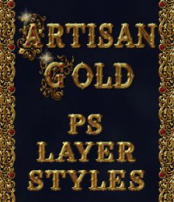 Artisan Gold PS Layer Styles