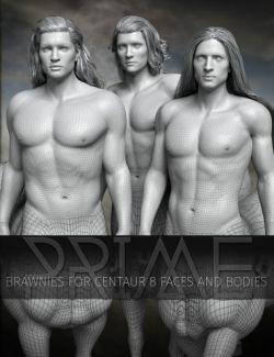 Prime Brawnies for Genesis 8 Male Centaur