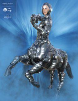 Solar Wardens for Genesis 8 Male Centaur
