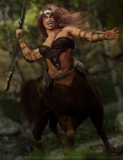 Annicellea Centaur for Genesis 8 Female Centaur