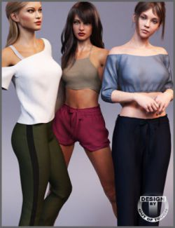 MEGA Wardrobe 2 for Genesis 8 Female(s)