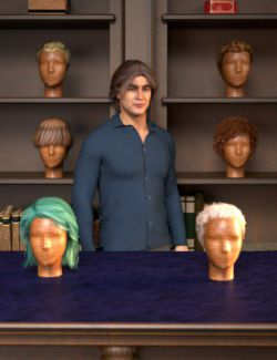 RSSY Hair Converter from Michael 4 to Genesis 8 Male