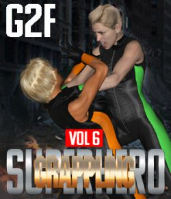 SuperHero Grappling for G2F Volume 6