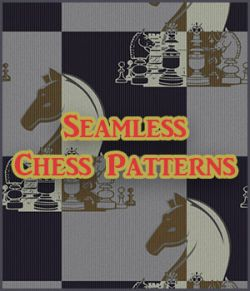 Seamless Chess Patterns