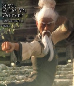 Sifu: Kung Fu Master Outfit for G8M