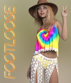 Footloose dForce outfit for the Genesis 8 Females