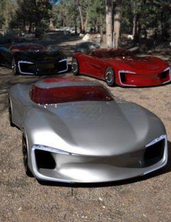 PW Super Car Iray