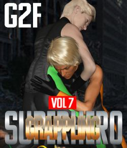 SuperHero Grappling for G2F Volume 7