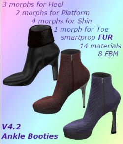 V4 Ankle Booties