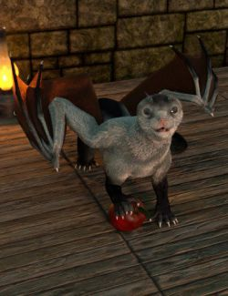 Oso Draco Furo for Daz Dragon 3