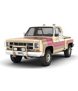 GENERIC 4WD STEPSIDE PICKUP TRUCK 11- Extended LIcense