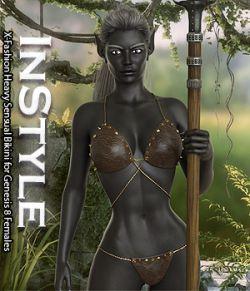 InStyle- X-Fashion Heavy Sensual Bikini for Genesis 8 Females