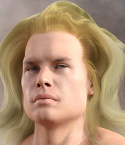 Siegfried Hair for Genesis 8