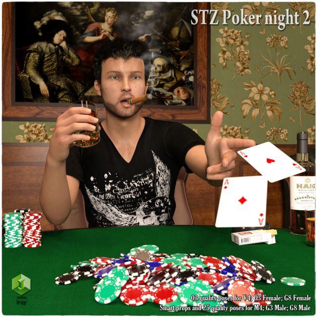 STZ Poker Night 2