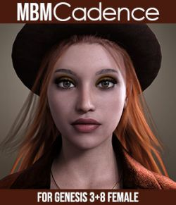 MbM Cadence for Genesis 3 and 8 Female