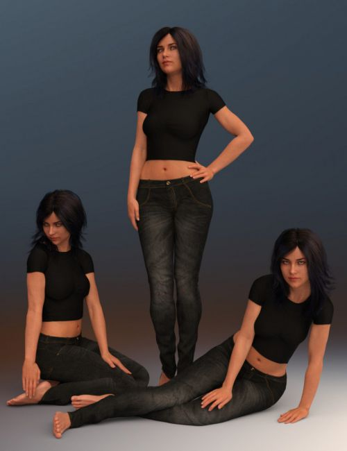 Subtle Appeal Poses for Babina 8