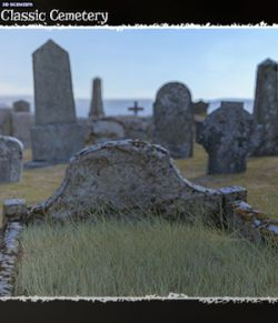 3D Scenery: Classic Cemetery