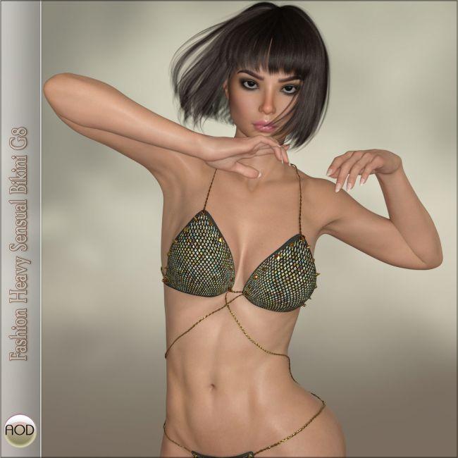 Fashion Heavy Sensual Bikini G8