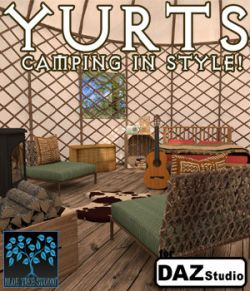 Yurts for Daz Studio