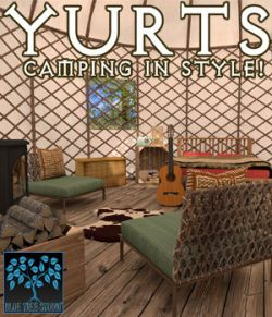 Yurts for Poser