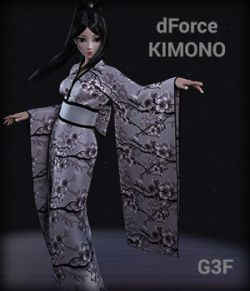 dForce Kimono for G3F