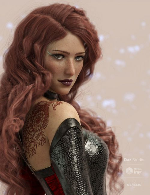 Ascelin for Genesis 8 Female