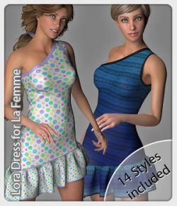 Lora Dress and 14 Styles for La Femme