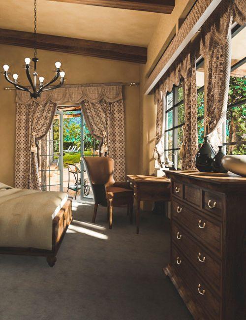 Tuscany Bedroom and Bath