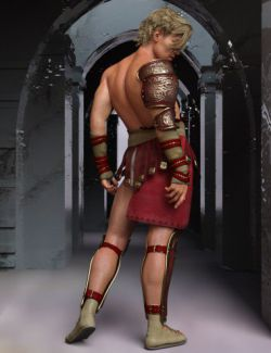 Greco Roman Poses for Genesis 8 Male