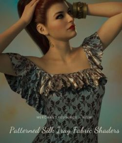 Patterned Silk Iray Shaders Vol2