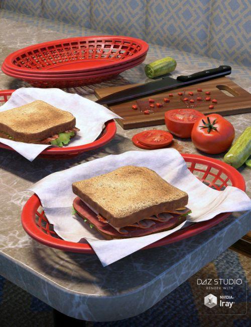 ARK Modern Food Pack I - Sandwiches
