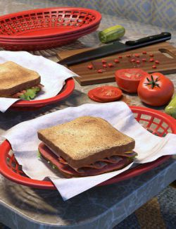 ARK Modern Food Pack I- Sandwiches