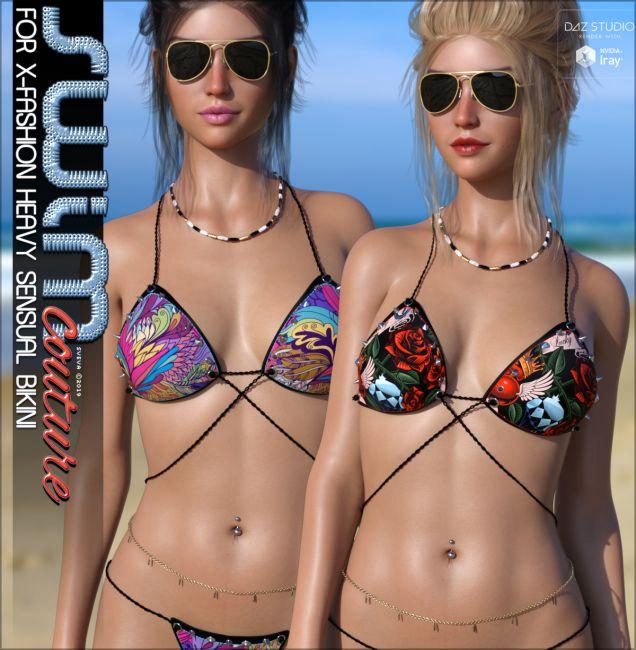 SWIM Couture for X-Fashion Heavy Sensual Bikini G8F