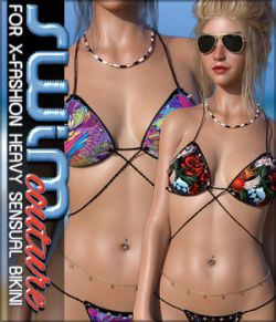 SWIM Couture for X-Fashion Heavy Sensual Bikini G8F