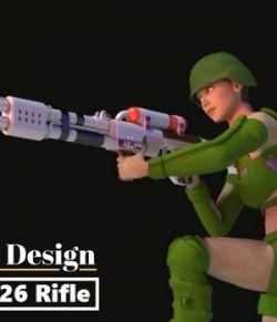 R25 & R26 Blaster Rifle