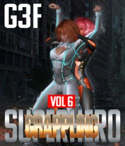 SuperHero Grappling for G3F Volume 7